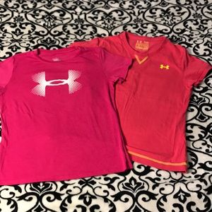 GUC girls MD Under Armour Tees